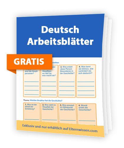 Deutsch-Arbeitsblätter