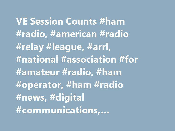 VE Session Counts #ham #radio, #american #radio #relay #league, #arrl, #national #association #for #amateur #radio, #ham #operator, #ham #radio #news, #digital #communications, #regulatory #information http://missouri.nef2.com/ve-session-counts-ham-radio-american-radio-relay-league-arrl-national-association-for-amateur-radio-ham-operator-ham-radio-news-digital-communications-regulatory-informatio/  # VE Session Counts If you're an ARRL Volunteer Examiner interested in seeing how many ARRL…