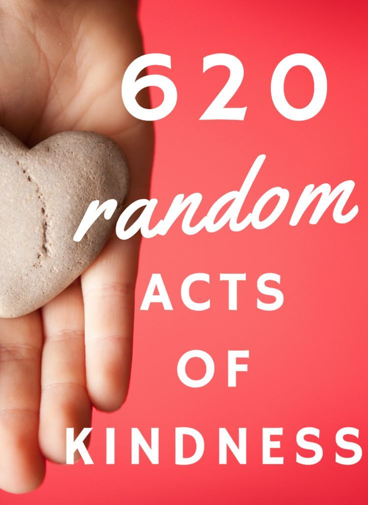 620 Random Acts Of Kindness: Inspiration For The Entire Family #WorldKindnessDay | Lady and the Blog