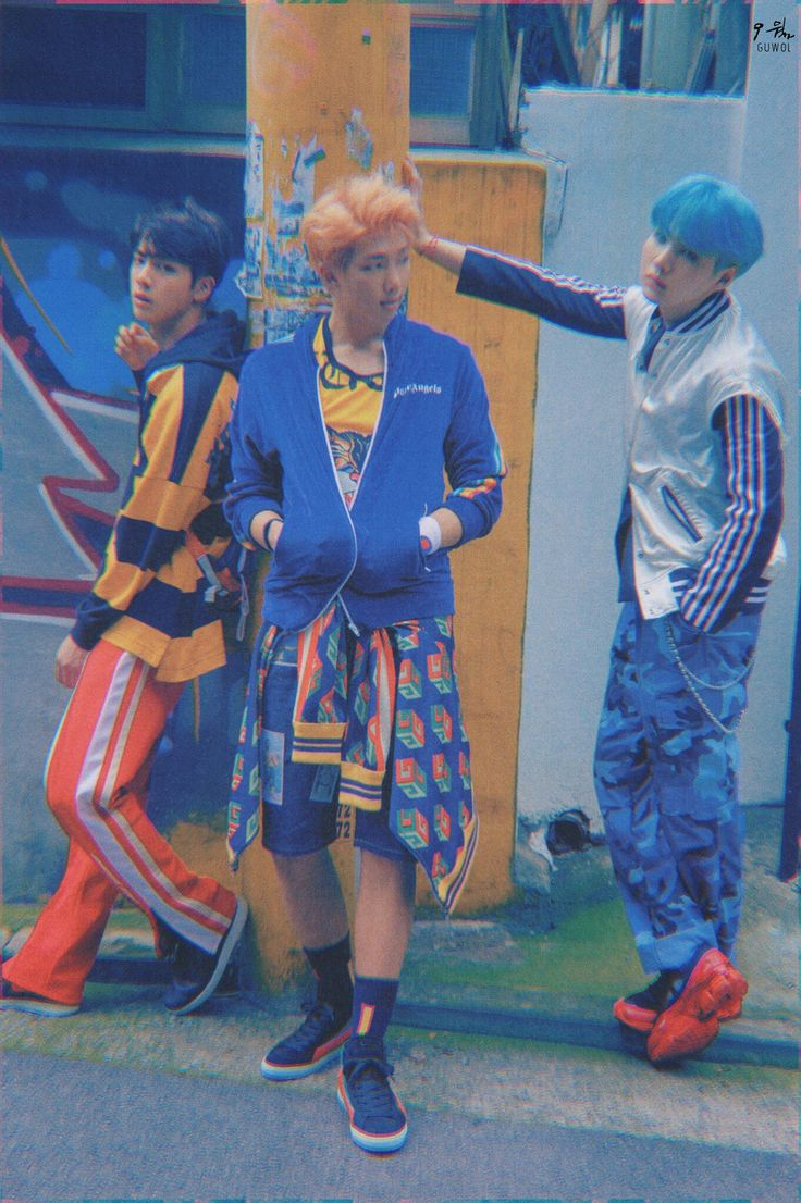Why do they look like those bad boys in school but with cute outfits xD