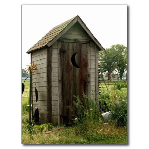 Outhouse Postcard Outhouse Postcards Pinterest Cabin