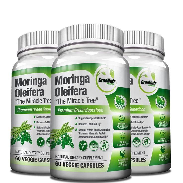 GreeNatr, Moringa Oleifera Leaf Extract - 60 Veggie Capsules Moringa Capsules are the top Premium Superfood Containing Essential Vitamins & Minerals, 46 Antioxidants, 35 Anti-inflammatory http://www.pickvitamin.com/greenatr-moringa-oleifera-leaf-extract-60-veggie-capsules.html