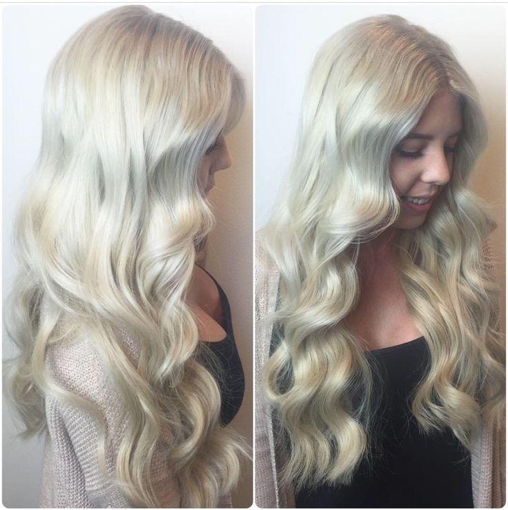Blonde Hair Icy Hair Icy Blonde Hair Cool Tone Blonde