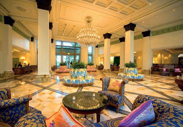 Palazzo Versace, Australia   For more inspirations: www.luxxu.net #hoteldesign #luxuryhotels #lightingdesign