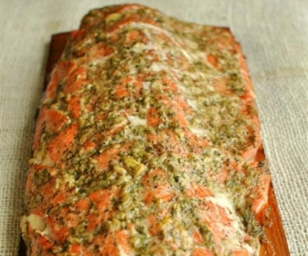 Savory, most, and absolutely delicious -- this salmon fillet will not disappoint!