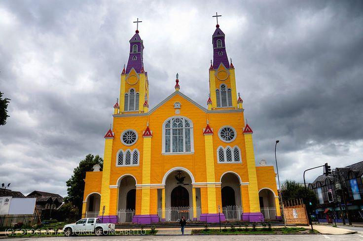Patrimonio de la Humanidad - Iglesia San Francisco de Castro (Chiloe - Chile)