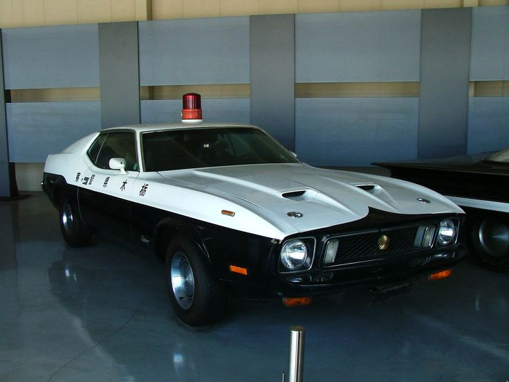 """OK, did you know that Japanese cops used Mach 1 Mustangs in the '70s?"""