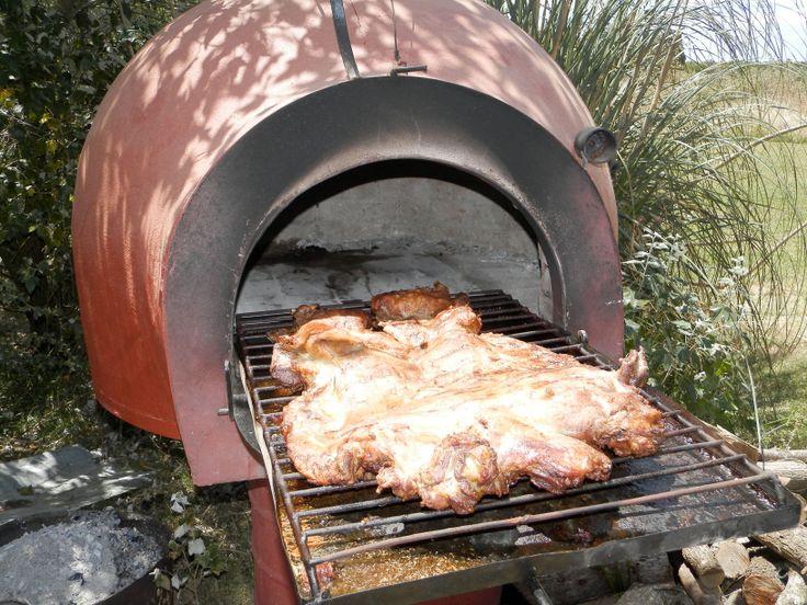recetas en tradicional horno de barro