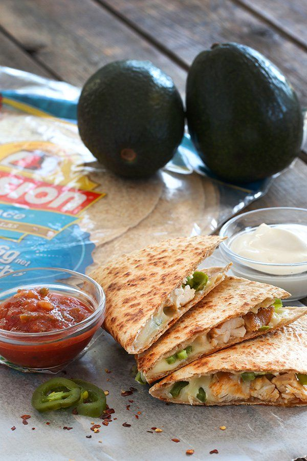 Who doesn't love a quesadilla? Here's a low carb chicken quesadilla recipe you'll make every day once you try it! Try this recipe & more at Tasteaholics.com