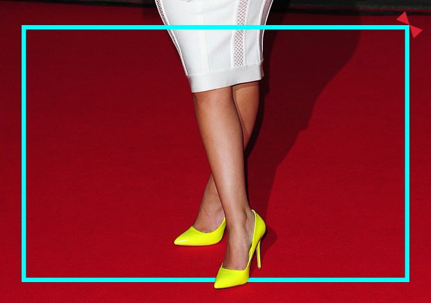 Yellow pumps with some detailed cutwork Get #StreetSmart with your very own fabulous pair of #INTOTOs  #Yellowpumps #INmyshoes