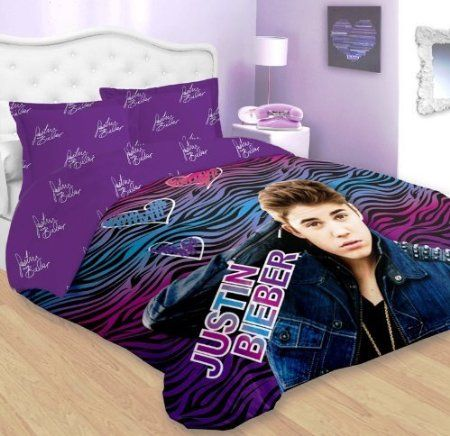 Justin Bieber Bedding Comforter Cool Bedding Set