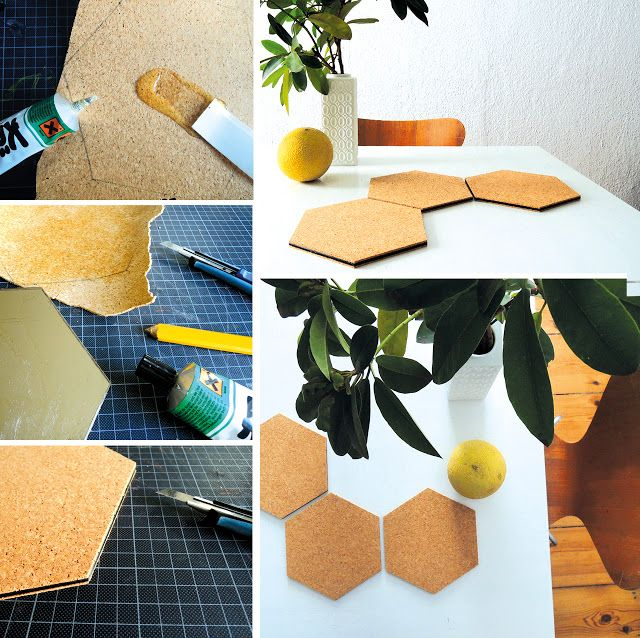 DIY - ikea hack - mirror -> coaster