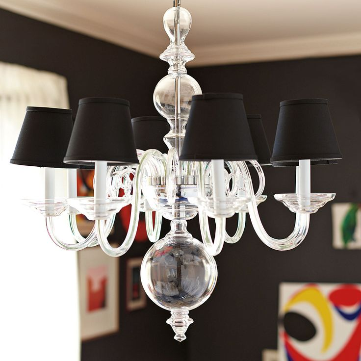 Anya Blown Glass Chandelier