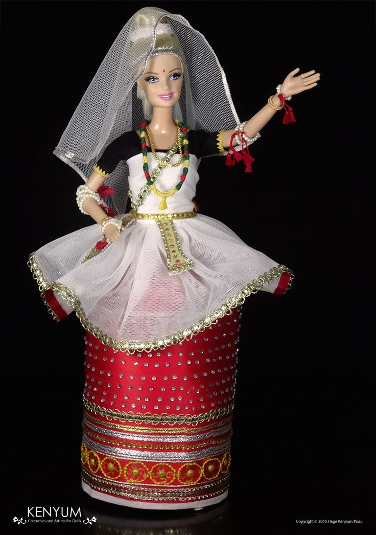 Manipuri dance Barbie doll photo 4