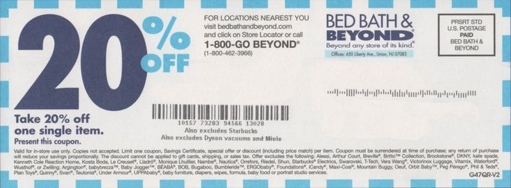 Bed Bath and Beyond Coupon Canada