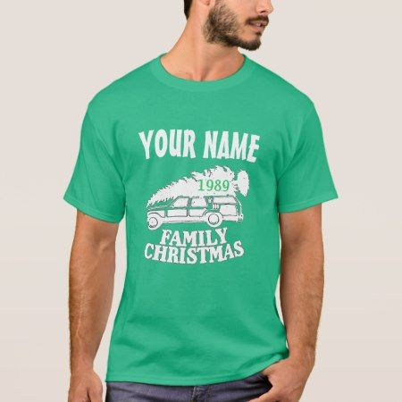80's Family Christmas Tree T-shirt - click to get yours right now!