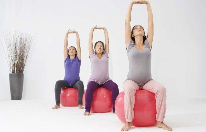 Schwangerschafts<wbr/>gymnastik: Übungen zum Relaxen & Wohlfühlen