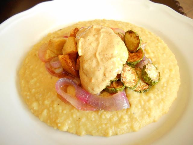 Συνταγές - Φάβα με τηγανητά λαχανικά και καυτερή σάλτσα κάρυ