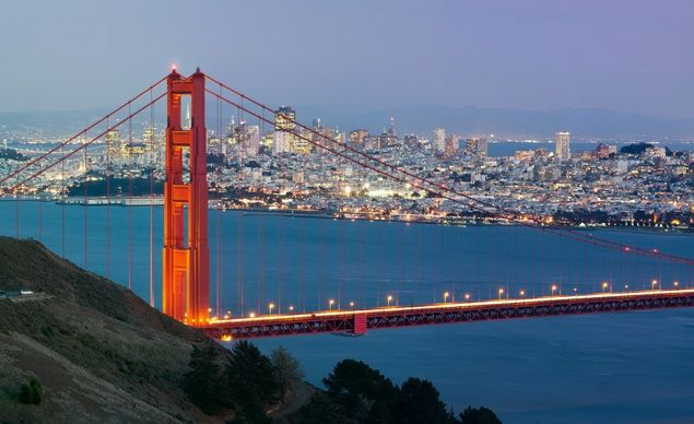 32 city Grand Tour of the US starts and ends in San Fran. Always wanted to live in this colorful city!