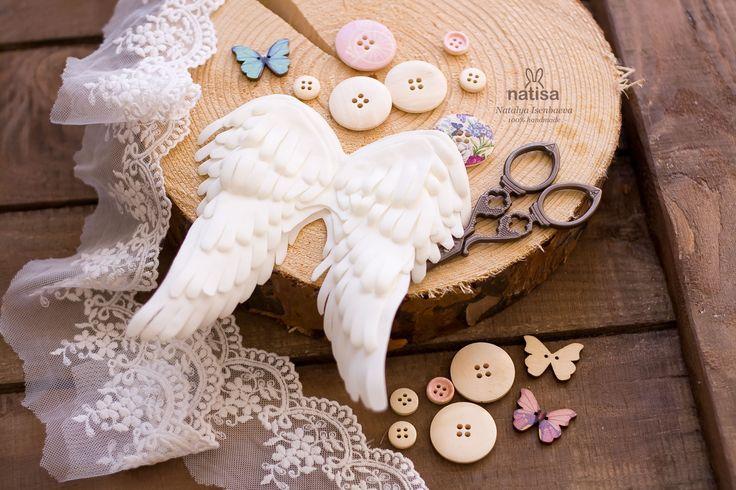 Angel wings handmade // Рукодельные крылья ангела