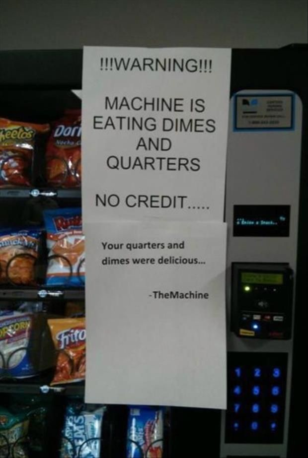 The Machine Was Hungry Best Sarcastic Responses Ever • Page 5 of 6 • BoredBug