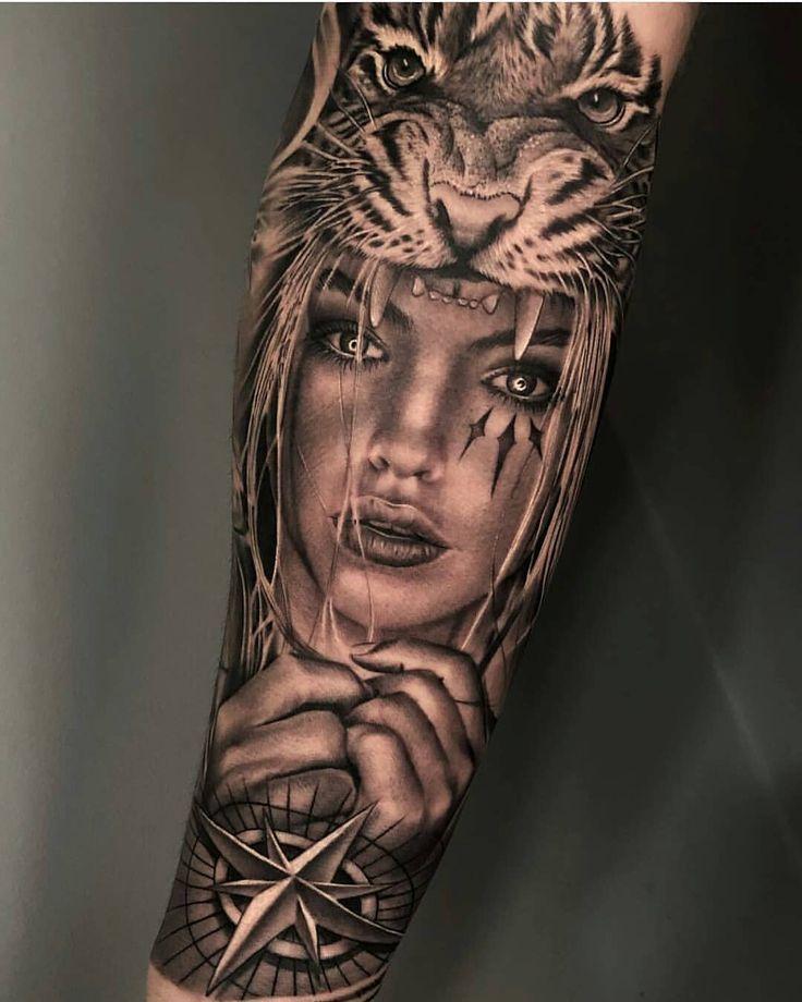 """Tatts HD – for tattoo lovers on Instagram: """"Comm … – #Comm #geisha #HD #insta … # tattoos"""