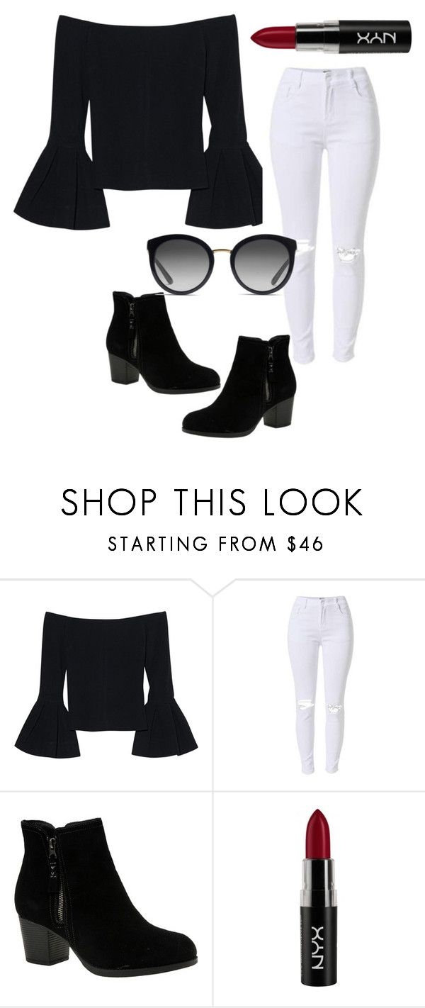 """""""."""" by valeria-arcos on Polyvore featuring Alexis, Skechers, NYX and Dolce&Gabbana"""