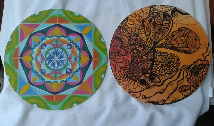 mandala geométrico y zendala