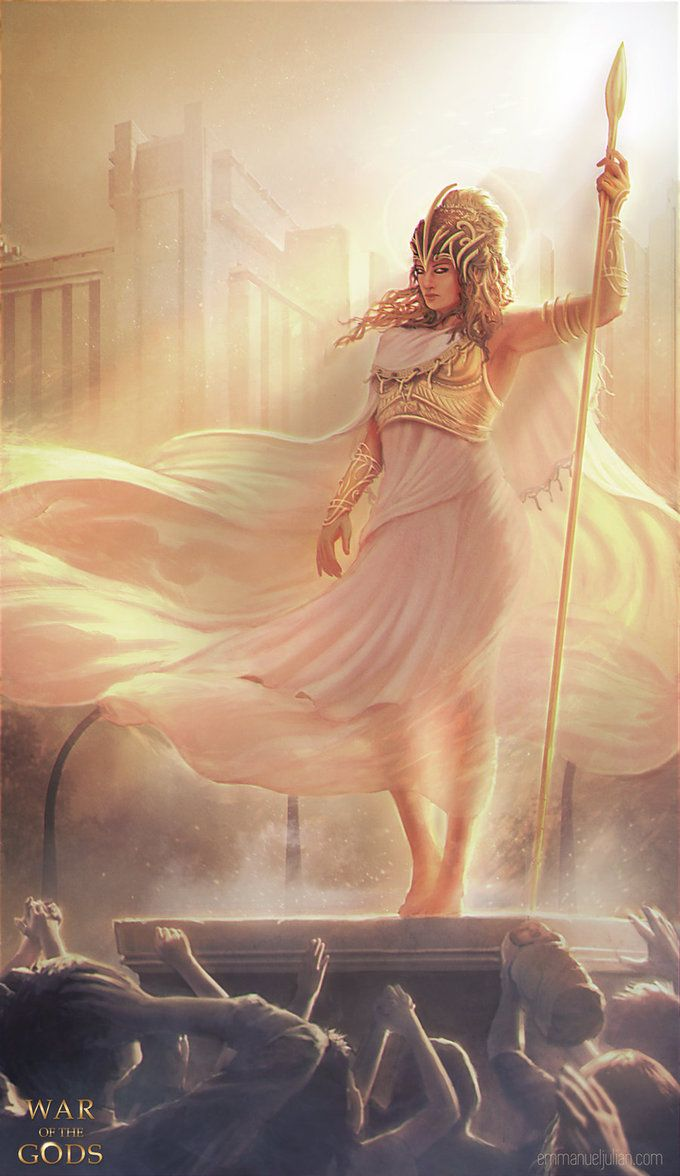 Athena: Goddess of wisdom, knowledge, war strategy, courage, inspiration and much more. Favored among the Gods and praised by many people, she is often sought out to for guidance and leadership tow...