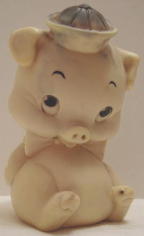Unusual Old Vinyl Squeak Toy Pig Ashland Rubber Products Co 1950s | eBay
