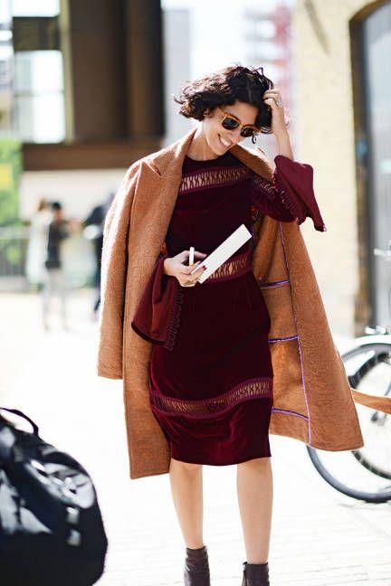 London Fashion Week, street style, Yasmin Sewell