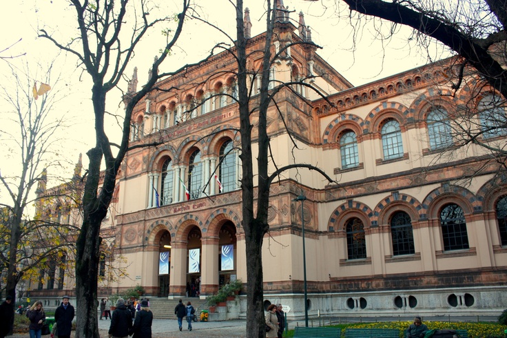 Museo di storia naturale. Corso Venezia 55 (Porta Venezia) Milano. Foto di Organirama.