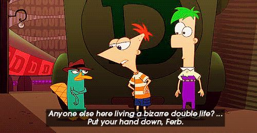 When it could make fun of its entire B-plotlines | Community Post: 15 Times Phineas And Ferb Proved It Was The Smartest Show Out There