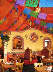 Mexican Restaurant Decor red restaurant decorating red restaurant decor awesome red table's