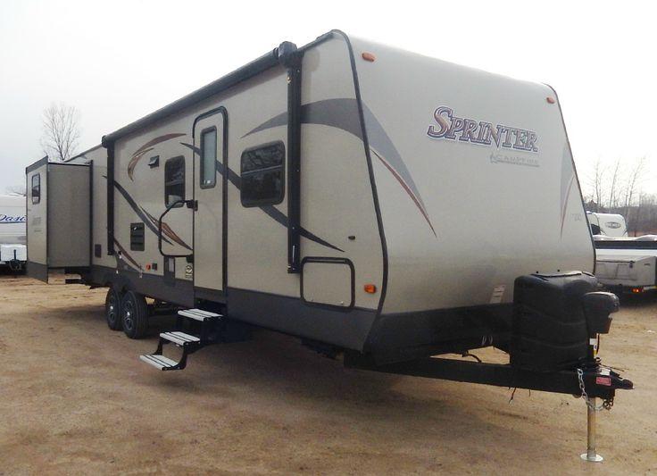 New 2016 Keystone RV Sprinter Campfire Edition 32BH Travel Trailer at PleasureLand RV | Long Prairie, MN | #819-16