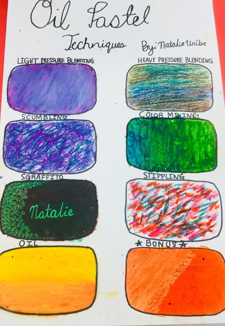 how to use oil pastels video