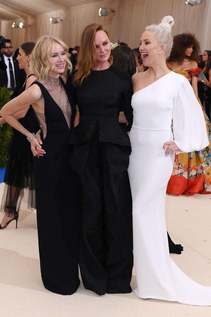 Naomi Watts, Stella McCartney & Kate Hudson @Met Gala 2017