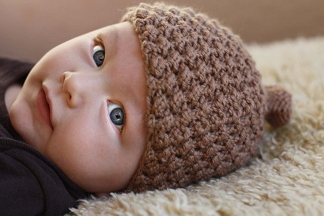 Knitting Pattern For Acorn Hat : Pin by Dareth Goulding on Knitting Projects - Baby Pinterest