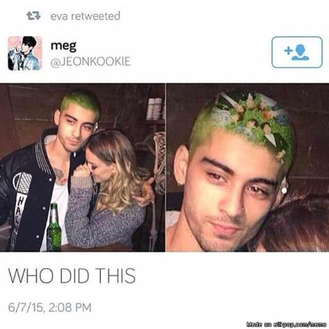 I don't follow One Direction in any way, shape, or form, but by hearing the news that Zayn has left the group, I understand. I feel for all of you, but this is too funny...