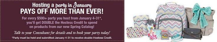 DOUBLE hostess credit in January! www.mythirtyone.com/Ldawidowski