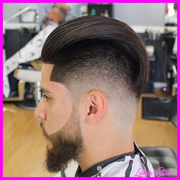 Long fade haircut with beard - http://livesstar.com/long-fade-haircut-with-beard.html