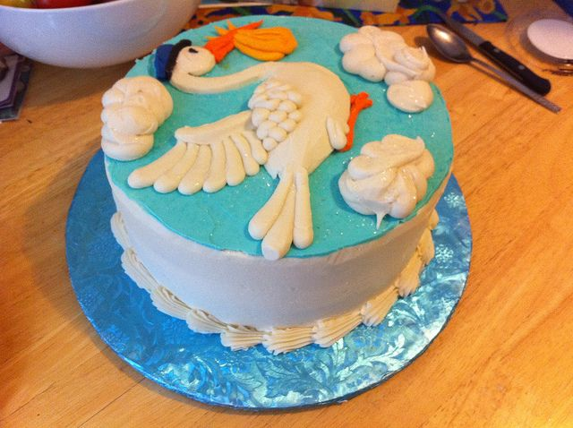 Stork-Cake-1 by briankaney, via Flickr