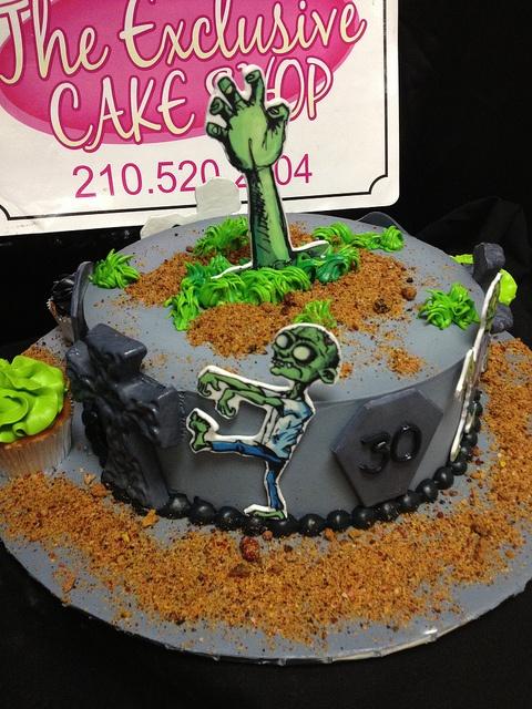 zombies cake