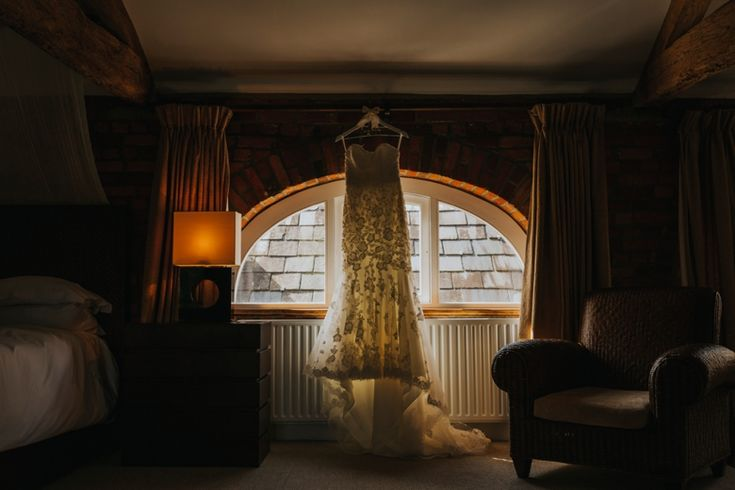 A lace lovers dream of a wedding dress. By @benrob1. Photo by Benjamin Stuart Photography #weddingphotography #benjaminroberts #weddingdress #lacedress #bride #whitewedding