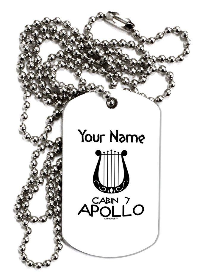 Camp Half-Blood Cabin 7 Apollo Personalized Dog Tag