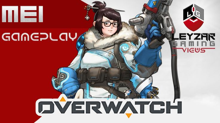Overwatch Gameplay - Mei on Nepal (Control Mode Gameplay)