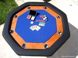 Download free plans to make this great octagon poker table.  Like, Pin, Share!