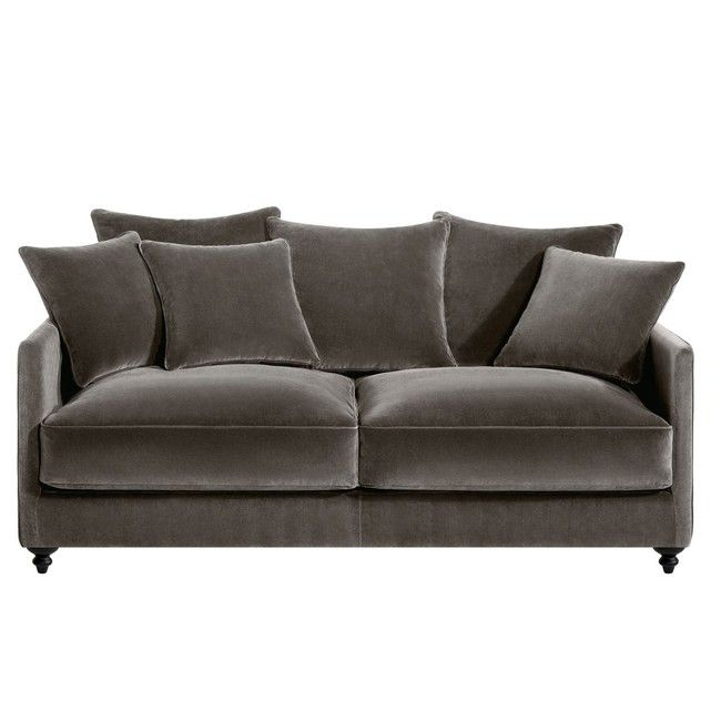 25 best ideas about canap velours on pinterest canap - Canape convertible bon couchage ...