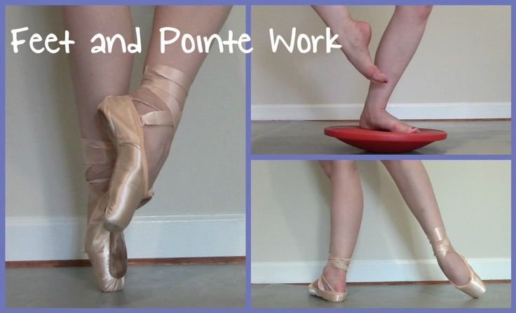 Feet & Pointe Work Strengthening Exercises