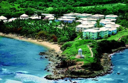 All Inclusive Riu Bachata Hotel /Resort in Puerto Plata Dominican Republic. - Aerial View